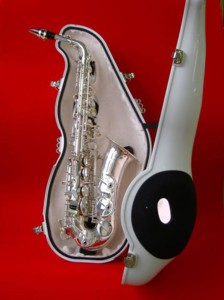 e-Sax saxophone quieter-downer